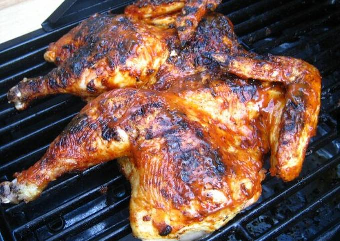 Easy Chinese style grilled chicken