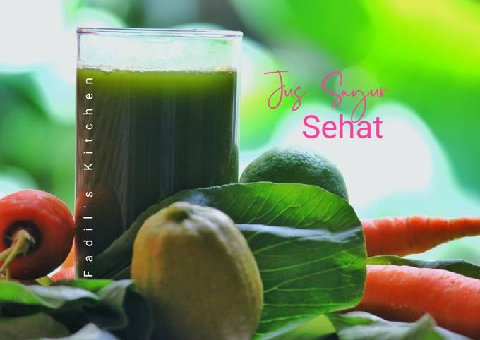 Jus Sayur Sehat