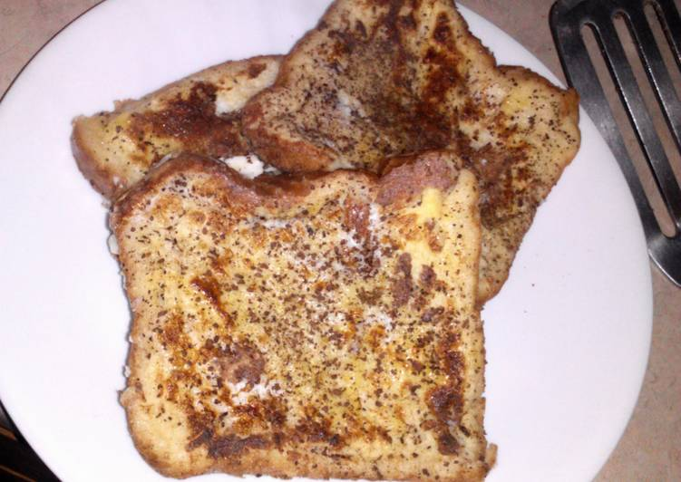 simply french toast. :)