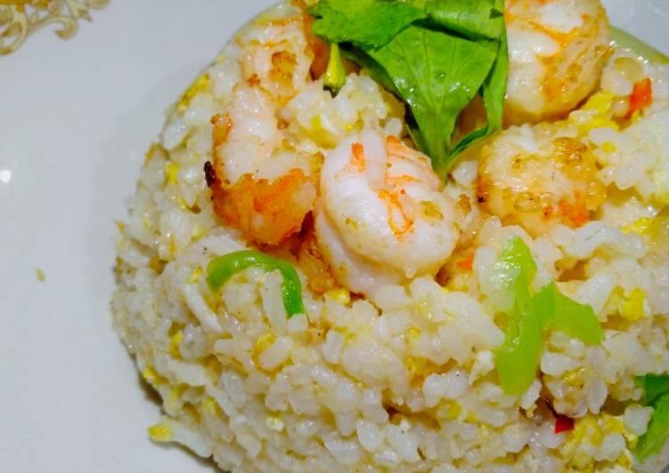 Nasi goreng seafood rumahan