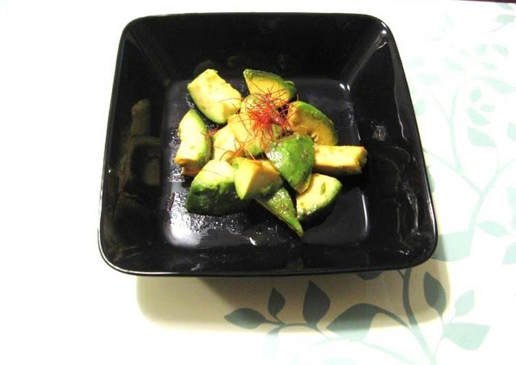 Steps to Make Ultimate Grilled Avocado with Yuzu Pepper Paste