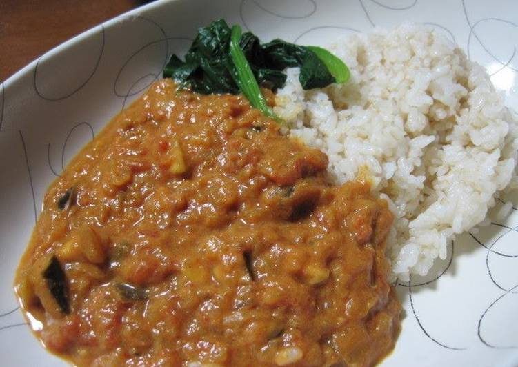 Recipe of Any-night-of-the-week Healthy Authentic Vegetable ✿ Indian Curry
