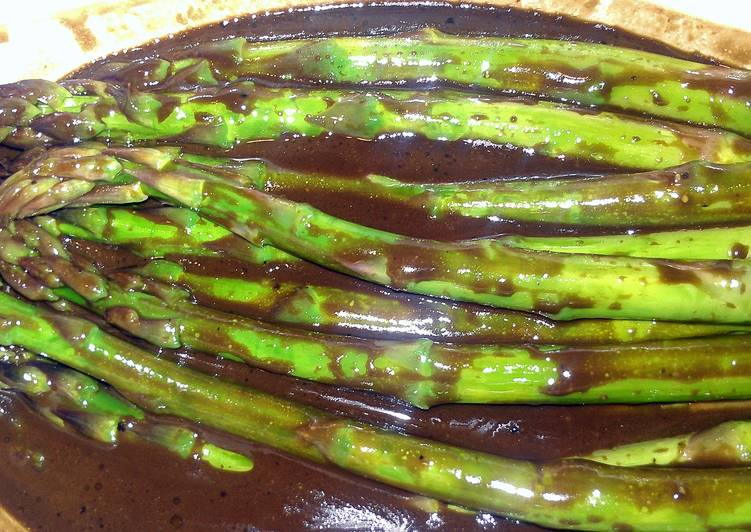 Try Using Food to Improve Your Mood Chilled marinated asparagus