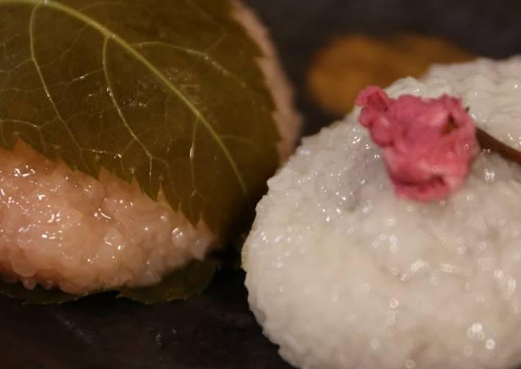 How to Make Super Quick Homemade White and Pink Domyoji