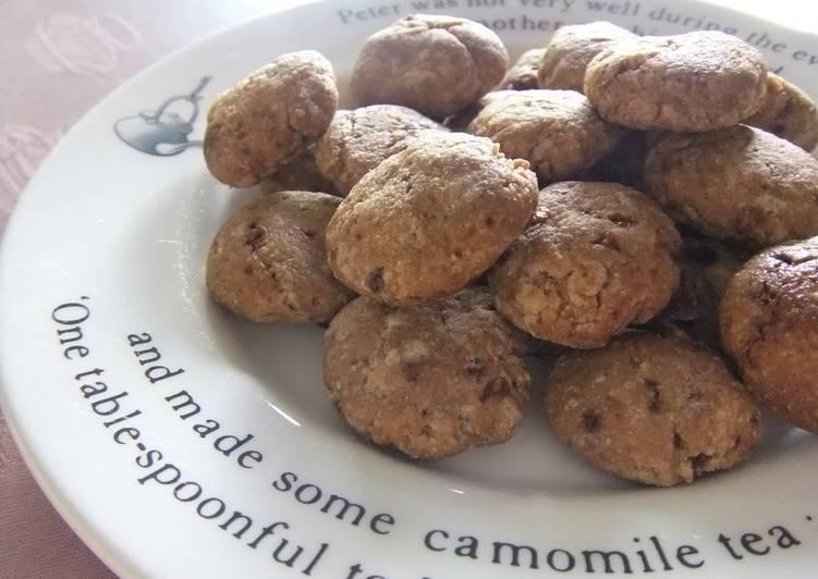 How to Prepare Top-Rated Low Calorie ★ Macrobiotic Brown Sugar Cookies