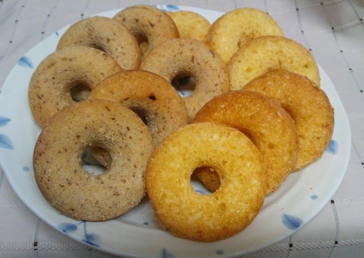 How to Prepare Appetizing Oil-free Chewy Yogurt Donuts