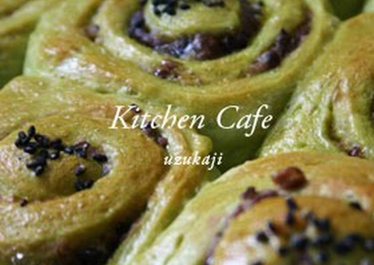 Step-by-Step Guide to Prepare Favorite Green Tea Spiral Rolls with Adzuki Beans