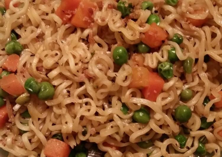 Recipe of Favorite Fast simple Ramen veggie meal