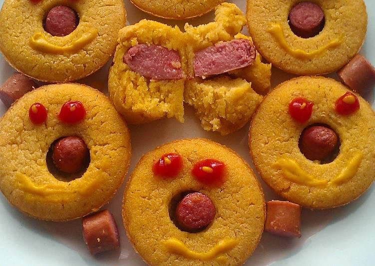 Easiest Way to Prepare Delicious Vickys Corndog Muffins, GF DF EF SF NF