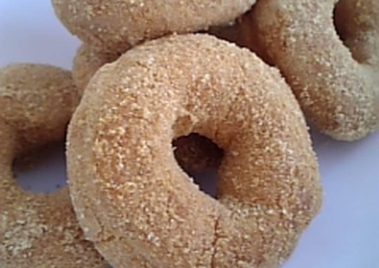 Easy Homemade Doughnut Rings No.1 Kinako Recipe