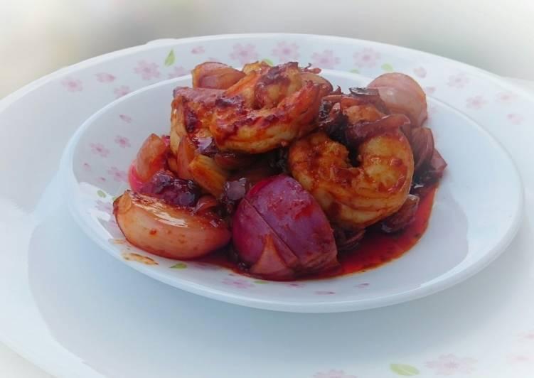 Spicy Shrimp / Sambal Udang