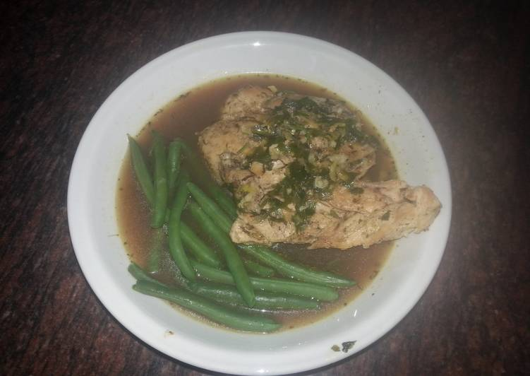 Recipe of Any-night-of-the-week Chicken breast with Lemon Herb