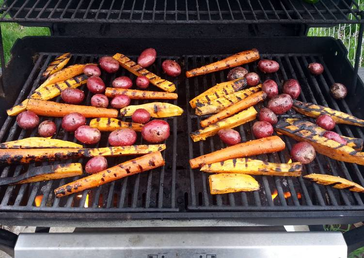 Easiest Way to Prepare Yummy Amazing Grilled Vegetables