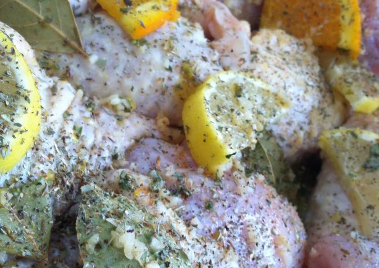 Recipe of Favorite Chicken Marinade