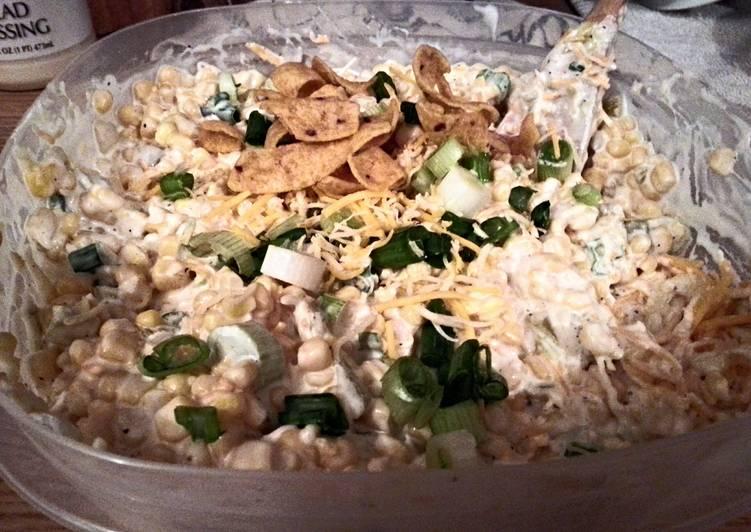 Recipe of Homemade cowboy corn salsa