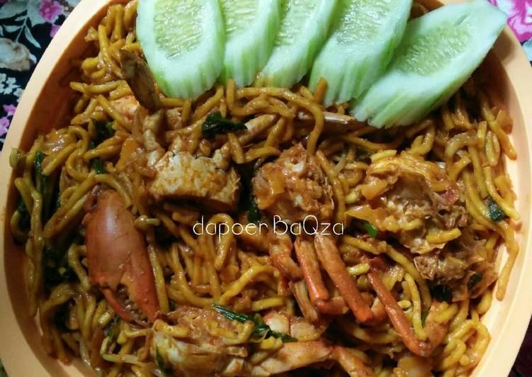 Mie Kepiting (mie Aceh)