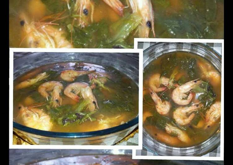 Recipe Of Homemade Amies Sinigang Na Hipon Cookandrecipe Com