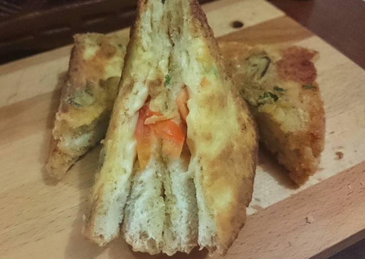 Crisp-melty Bread