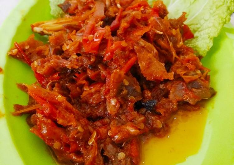 Sambal Ayam kampung Suwir
