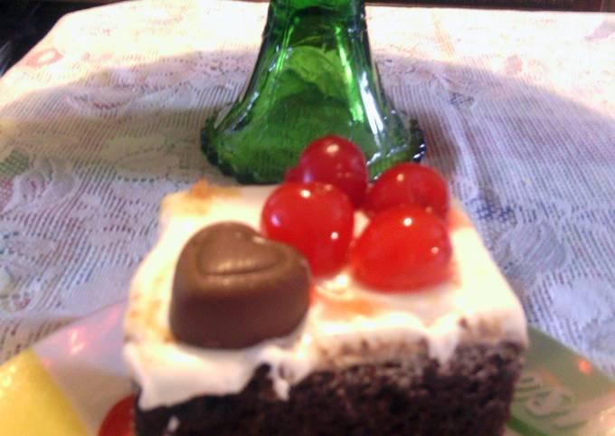 cherry cola chocolate cake