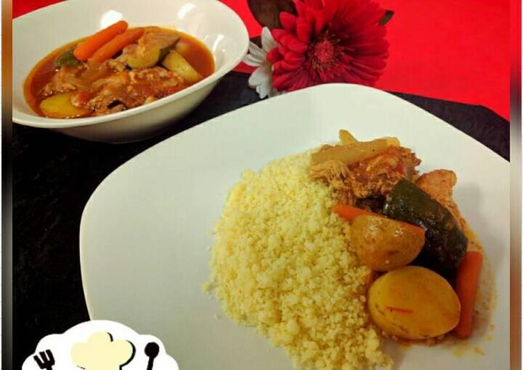 Chicken Tagine 'Ala-ala' Morocco