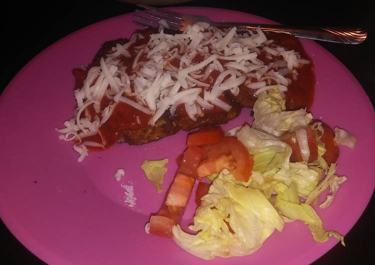 Recipe: Tasty Fried Eggplant Mozzarella