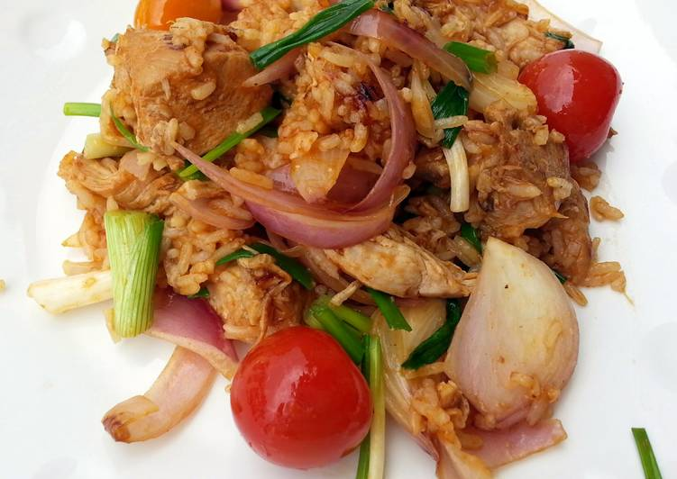 Quick and Easy Recipe: Tasty Sweet And Sour Chicken Fried Rice