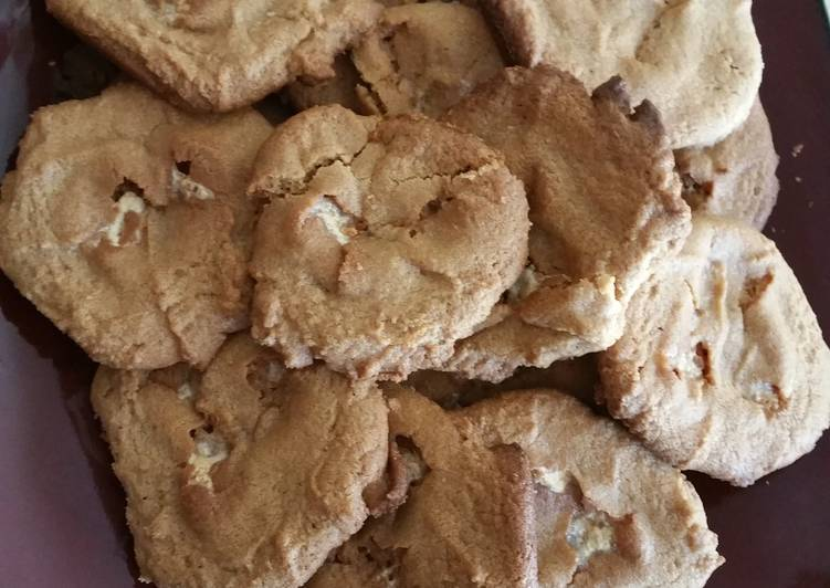 Recipe of Most Popular Peanut butter marshmallow cookies