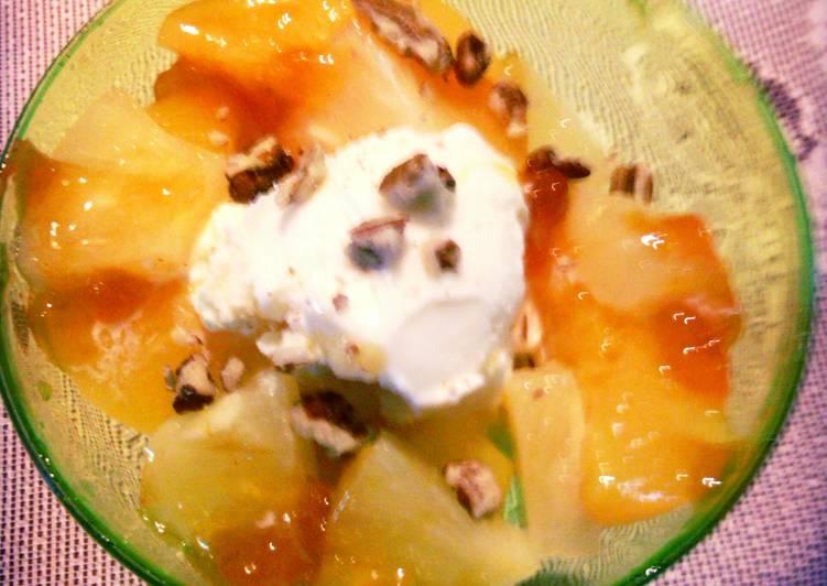 Sunshine perky peaches