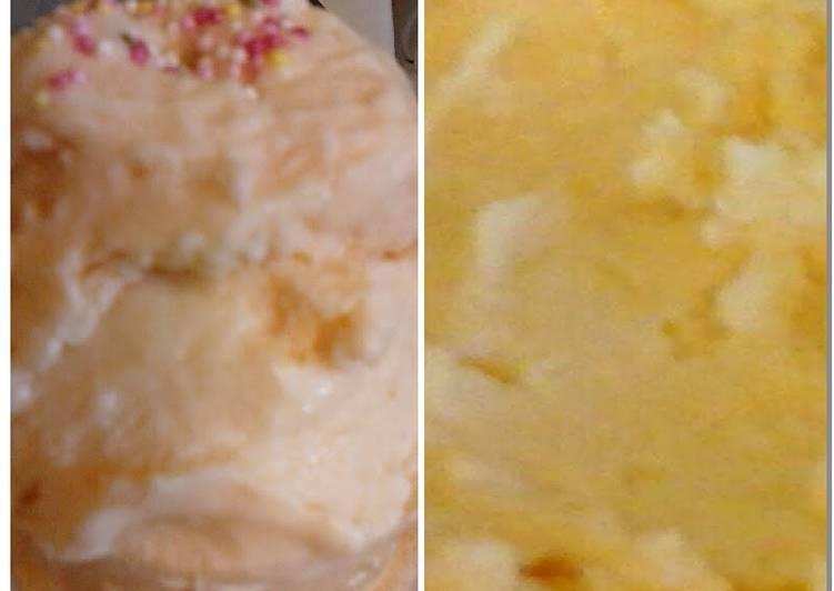 Recipe of Homemade Irmgards Quick Coconut Ice Cream (Low Calorie & creamy ) 😆