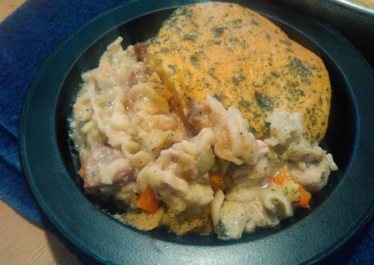 LadyIncognito's Grand Chicken and Sausage Pasta Bake