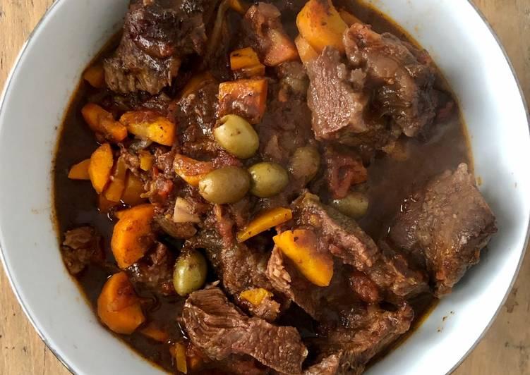 Bœuf aux olives