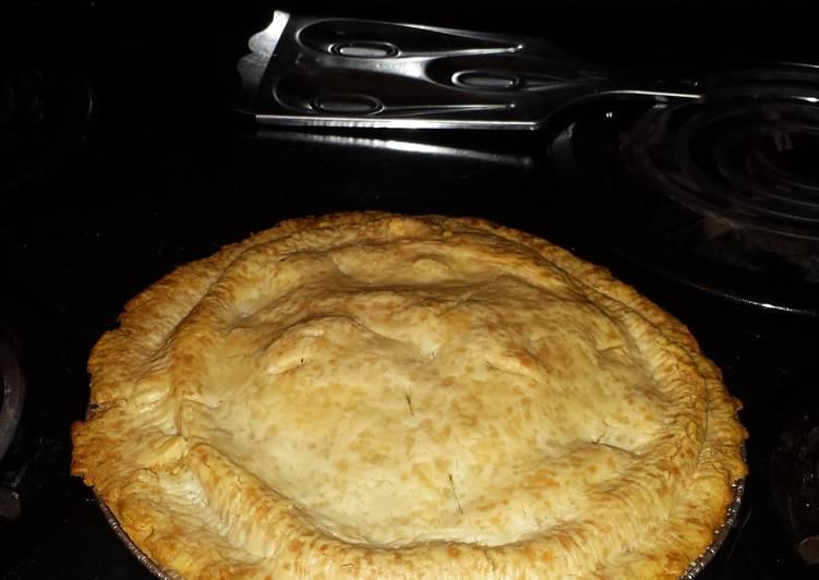 Homemade Chicken pie