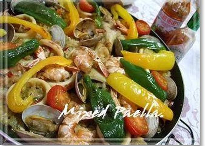 Easiest Way to Prepare Yummy Our Family Recipe for Mixed Paella