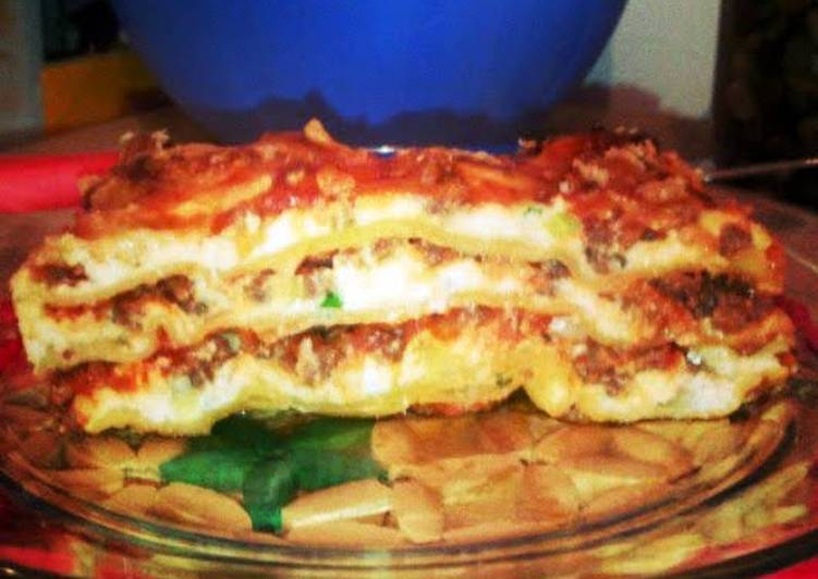 Recipe: Yummy L's Easy Lasagna
