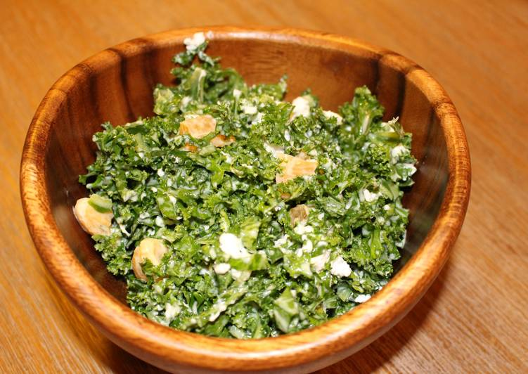 Steps to Make Any-night-of-the-week Kale Citrus Salad