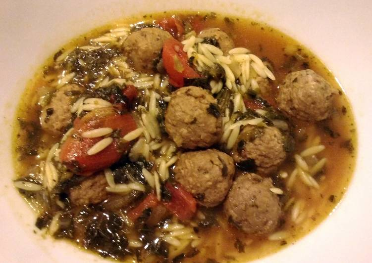 How to Make Ultimate Quick Meatball and Orzo Soup