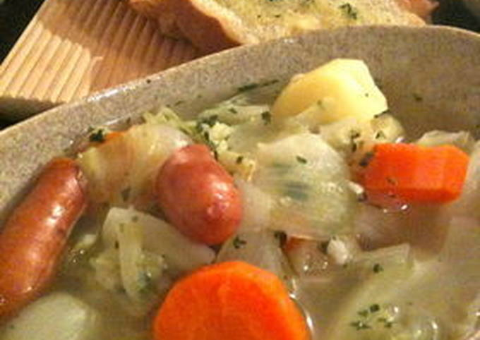 Cabbage Pot-au-feu