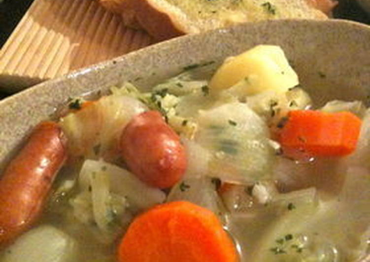 Recipe of Ultimate Cabbage Pot-au-feu