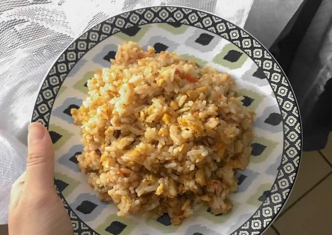 Cara Mudah Memasak Nasi Goreng Ebi Saos Tiram, Lezat…