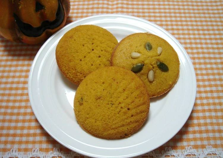 Simple Way to Make Favorite Kabocha Madeleine