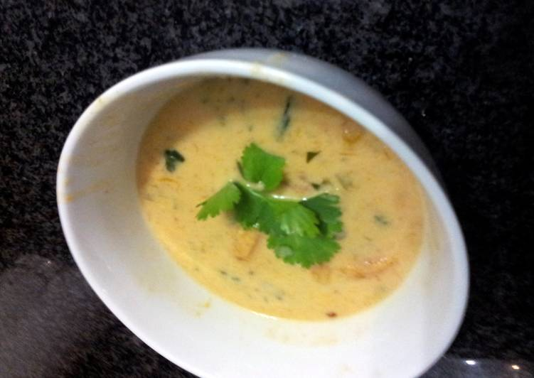 Thai Butternut & Chicken Soup