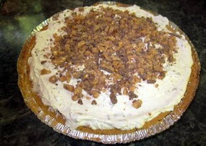 Easiest Way to Cook Yummy Heath Cream Pie