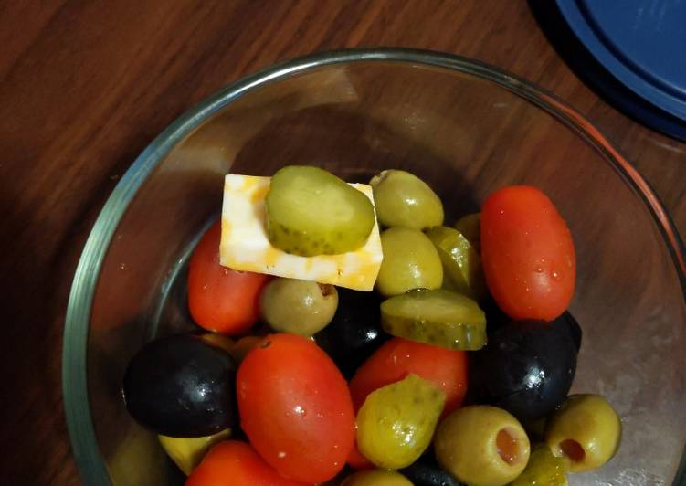 Easiest Way to Cook Perfect Beach Mix Olive Salad