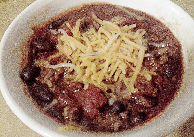Recipe: Delicious Chilly Chili
