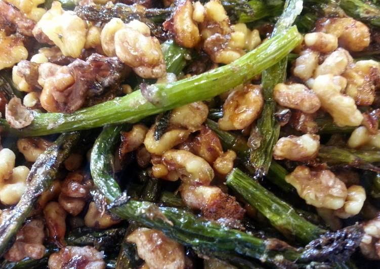Honey Walnut Asparagus