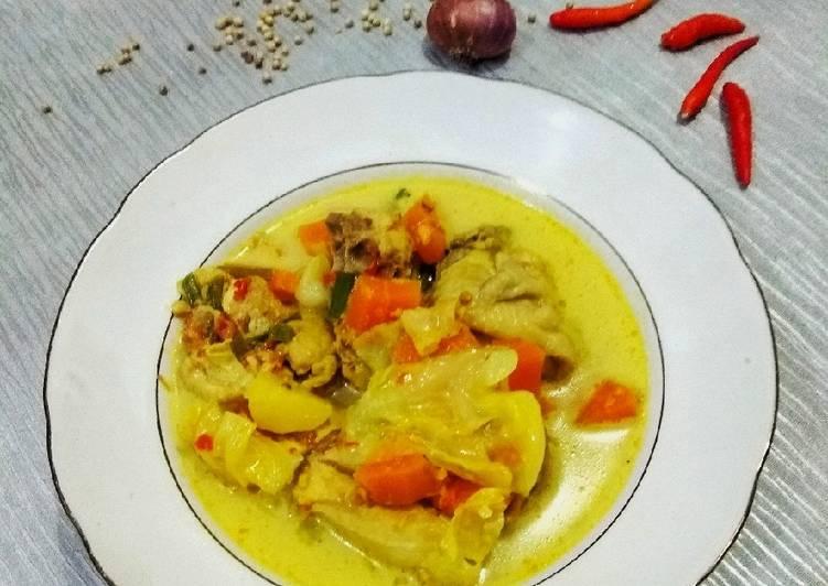 Kare Ayam + Sayur - cookandrecipe.com