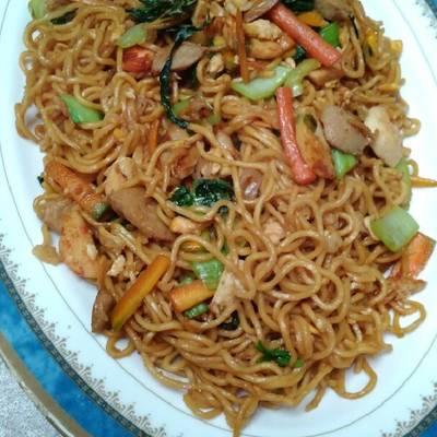 Mie goreng spesial ala Chinese food #enakanbikinsendiri