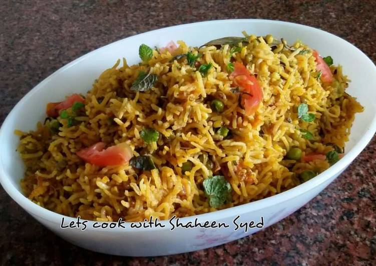 Recipe of Quick Sprouts pulao