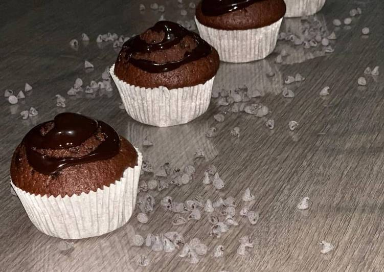 Ricetta Muffin Doppio Cioccolato